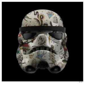 'Tattoo Stormtrooper' by Monica Vincent