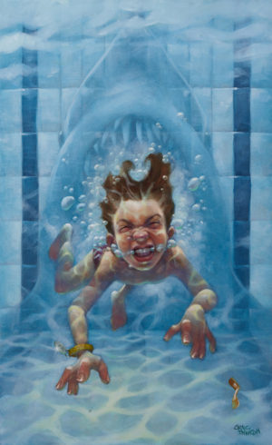 Get Out The Water! by Craig Davison