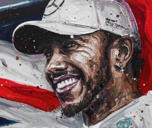 'Lewis Title Win 2018' by Paul Oz