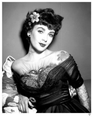 Liz Taylor Tattoo - JJ Adams