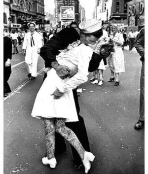 VJ Day Kiss - JJ Adams